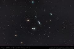 NGC3185 - NGC3187 - NGC3189 - NGC3193
