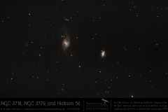 NGC3718 & NGC3792 & Hickson 56