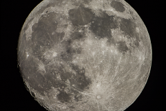 Mond DLSR-Mosaik (4 Farb-Bilder)