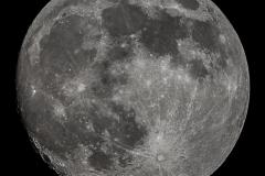 Mond DSLR-Mosaik (2 sw-Bilder)