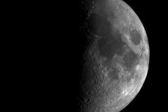 Mond-Mosaik aus 40 Bilder