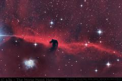 IC434 Pferdekopf-Nebel (neue Version mit über 15 Stunden Belichtungszeit!)