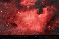NGC7000 Nordamerika-Nebel