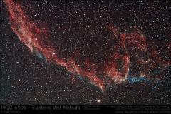 NGC6995 Cirrusnebel Knochenhand