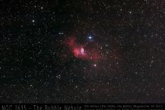 NGC7635 Blasennebel